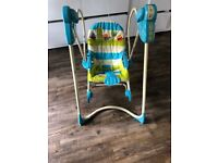 Fisher price baby swing and rocker
