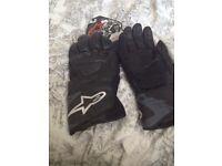 alpinestars gloves sp-8 size xxl excellent condition