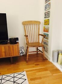 Wooden armchair open to all offers!!!!