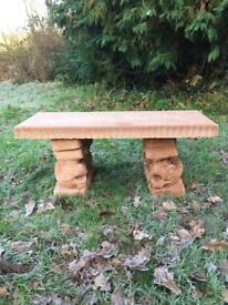 Stone Garden Bench Garden Ornament