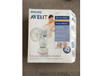Avent electronic breast pump and Avent sterelizer