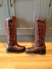 Women Chocolate Ariat Grasmere Long Boots - only worn once. UK size 5M, Eur size 38.5