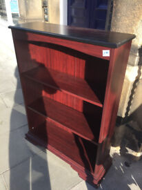 Bookcase , in good condition . L 33 in D 11 in H 45 in