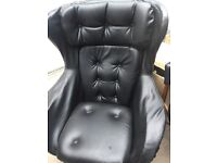 Vintage - 1970s Danish Swivel Chair