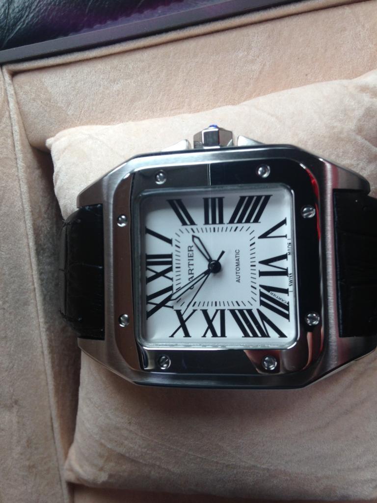 Cartier santos 100in Leytonstone, LondonGumtree - Brand new, stylish watch......Brand new, stylish watch......Brand new, stylish watch......Brand new, stylish Brand new, stylish watch......watch......Brand new, stylish watch......Brand new, stylish watch