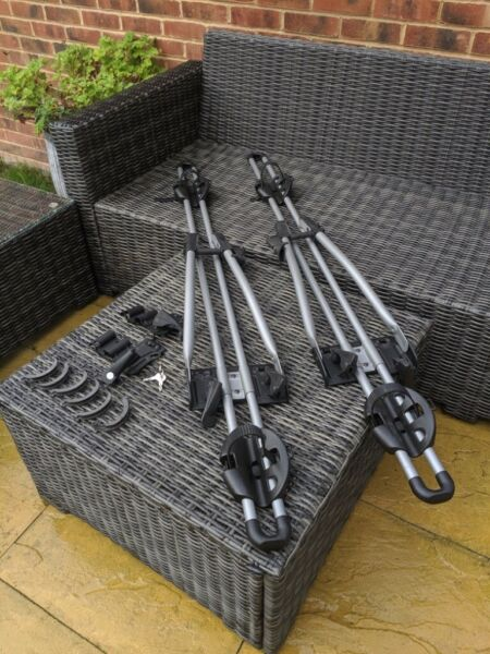 2 x Thule FreeRide 532 bike carriers  for sale  Waterlooville, Hampshire