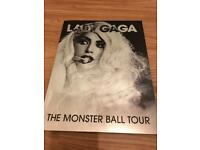 Lady Gaga Monster Ball tour official programme