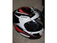 Arai Rebel motorbike helmet