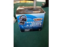 Ps2 steering wheel, good condition