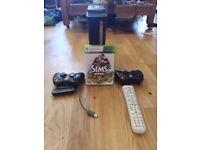 Xbox 360 elite with game