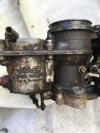 Vw solex twin carburettor 22-34 Pdsi