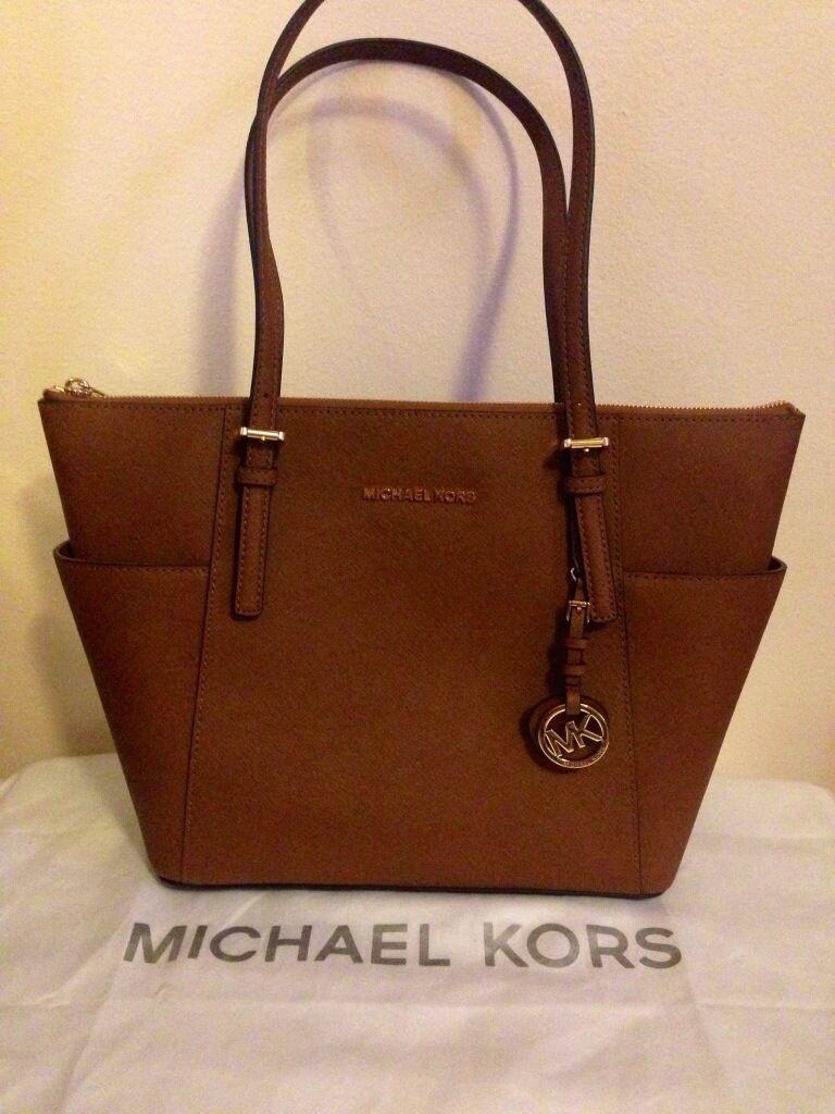 Brand New Michael Kors Tan Tote Bag