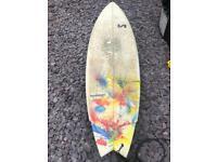 Visionary custom surfboard