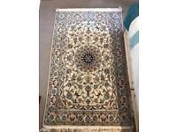 Hand made PERSIAN Kashan carpet 120x190cm silk/wool mix
