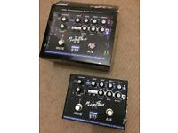 EBS Microbass 2 bass preamp pedal. Boxed with instructions.
