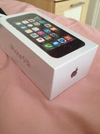 Brand new iPhone 5s 16gb ,1 year apple warranty