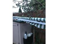 Awning canopy garden