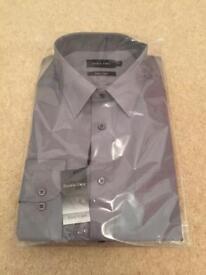 "New Mens Shirt, 17.5"" neck."