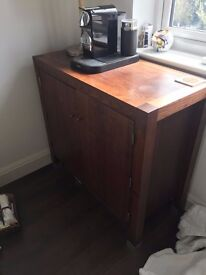 Solid wood cupboard - Next Home
