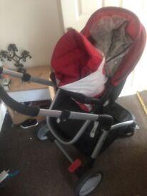 Full travel system- mother care roam