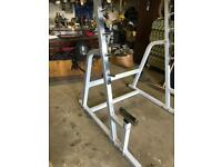 Gym Squat rack great condition