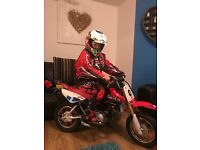 2009 crf50 £750 or swap for kx65 or ktm 65