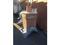 False Chimney Stack off a Bloor Home 9 years old