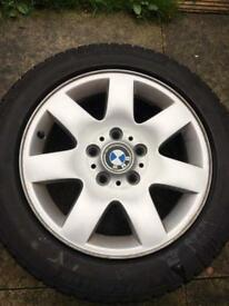 4 Winter tyres with alloys 205/55/16
