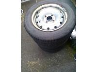 CITROEN BERLINGO wheels and tyres for sale.