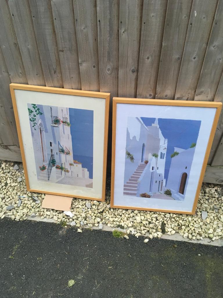 Pictures and framesin Upton, CheshireGumtree - 50cm x 70cm frames both pictures. Free to collect. Ready to hang on wall