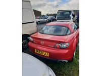 04 MAZDA RX-8 231 PS 2.6 PETROL breaking for parts only all parts available postage nationwide