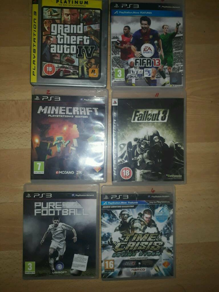 Collection of PS3 games