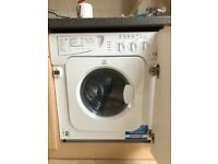 Indesit integrated washer dryer for sale
