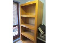 Oak Veneer Bookcase from Next - very large