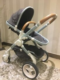 ICandy Designer Collection Pram/Buggy & Cosy Toes