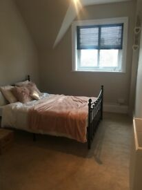 Double bedroom part furnished
