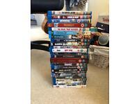 Stack of Blu Rays