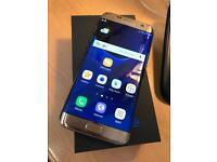 Samsung galaxy S7 edge gold 32gb factory unlocked brand new condition