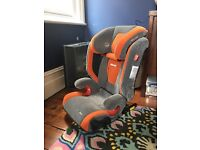 Recaro monza ISO fix car seat used no crash