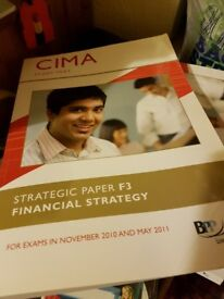 CIMA and AAT Study Text books, exam practice kits, CD's, pass cards, revision materials 56+ items!