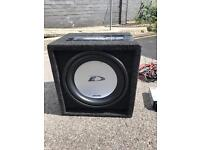 """Subwoofer Alpine 12"""" 800W with lights"""