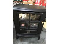 Dimplex Electric Fire with remote control (made to look like a cast iron stove)