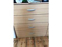 Set of drawers (4 drawers)
