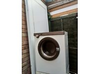 Philips white front loading rear venting 3kg upright free standing white compact clothes dryer