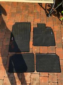 Mini Countryman mats rubber vgc