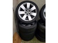 Bmw Genuine 18'' E60 Alloy Wheels Can Sell Single Can Post Part Exchange Welcome