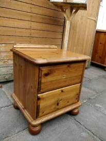£12 pine bedside cabinet farmhouse shabby chic project