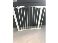 Lindam stair gate with extensions.