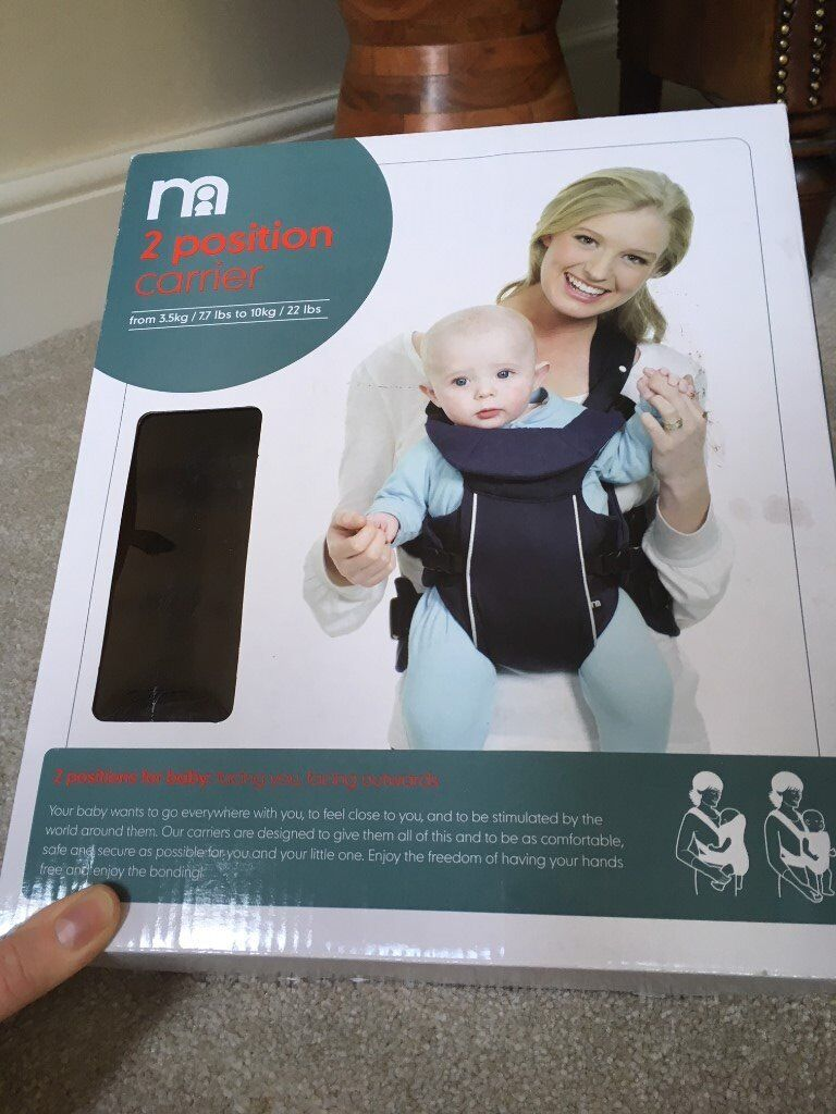 mothercare baby carrier as new, boxed