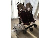 Cosatto double buggy £50